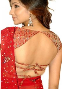 Choli Blouse http://www.indianwomenclothing.com/articles/saree-blouse-designs-patterns.html