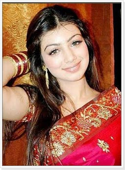Ayesha Takia in Red Saree