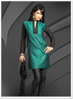 Party Wear Churidar Kurta