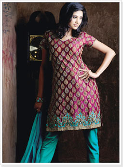 Designer Bridal Churidar Suit
