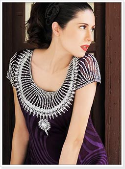 Churidar Neck Designs, Latest Churidar Neck Designs, Churidar Neck