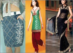 Indian Fusion Outfits
