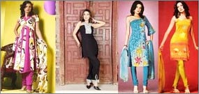 Indo Western Salwar Suits