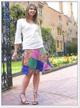 Jaipuri Patchwork Skirt