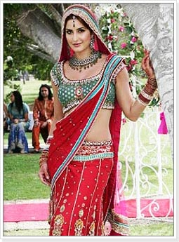 Katrina Kaif in Indian Bridal Dress