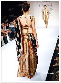 Backless Choli for Bridal Lehengas
