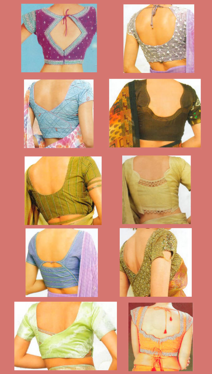 To know in details the changes in Indian blouses patterns, check out ...