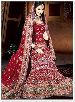 Designer Indian Wedding Bridal Lehenga