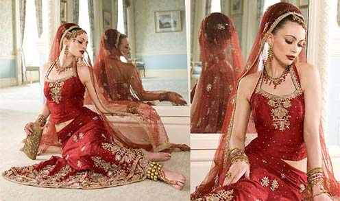 Contemporary Indian Wedding Lehenga