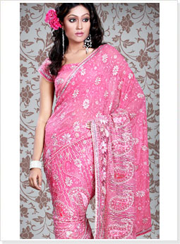 Latest Wedding Saree Design