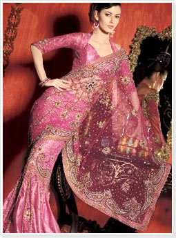 Embellished Designer Wedding Saree